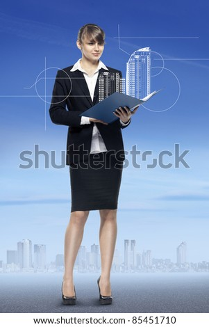 real estate business. see more on my page - stock photo