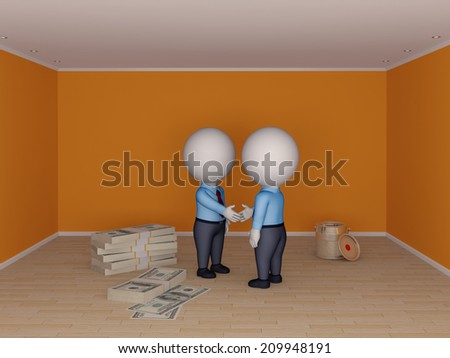 Real estate concept. - stock photo