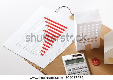 Real estate management - stock photo