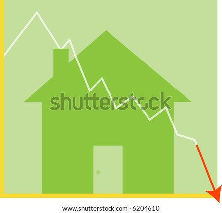 Real Estate, Mortgage Crisis - stock photo