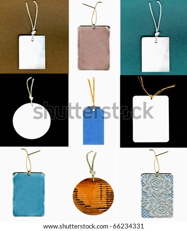 Real Gift Tags Set