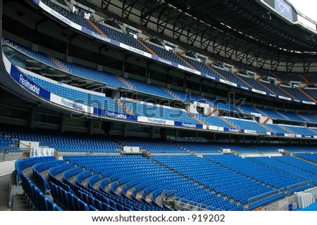 Real Madrid Stadium - stock photo