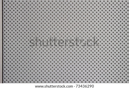 Real metal texture with edge - stock photo