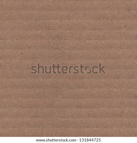 Real recycled cardboard paper background - very high resolution seamless looping texture - stock photo