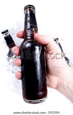 Real Refreshing Drinks - stock photo