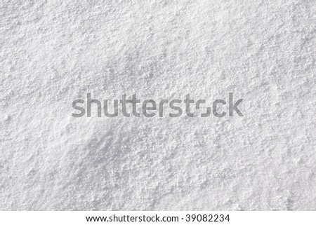 real snow texture - stock photo