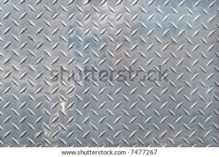 real steel pattern - stock photo