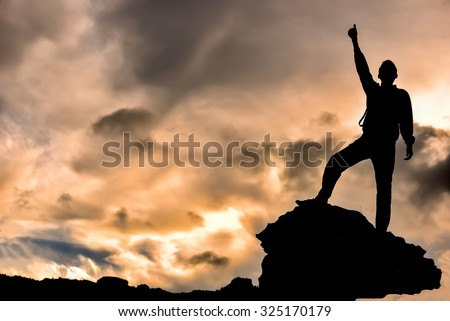 real success story - stock photo