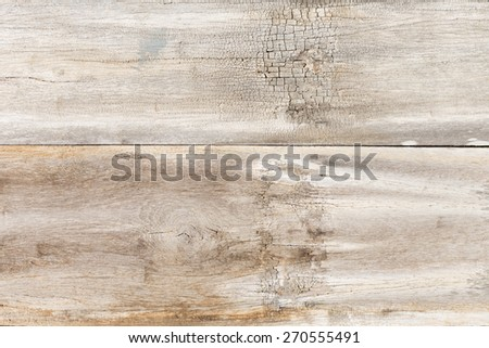 Real wood background, Wooden wall in countryside ( clean up version) - stock photo