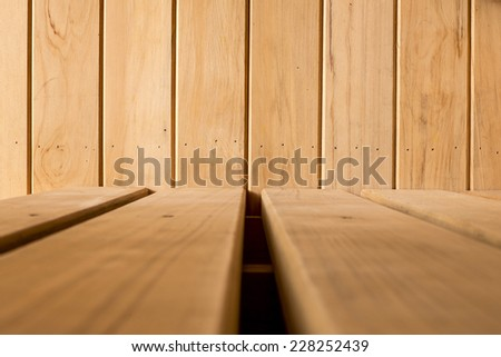 Real Wooden Background