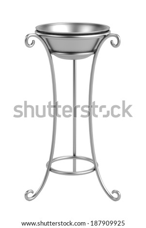 realistic 3d render of basin - stock photo