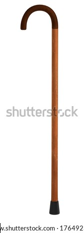 realistic 3d render of cane - stock photo