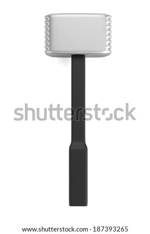 realistic 3d render of mallet