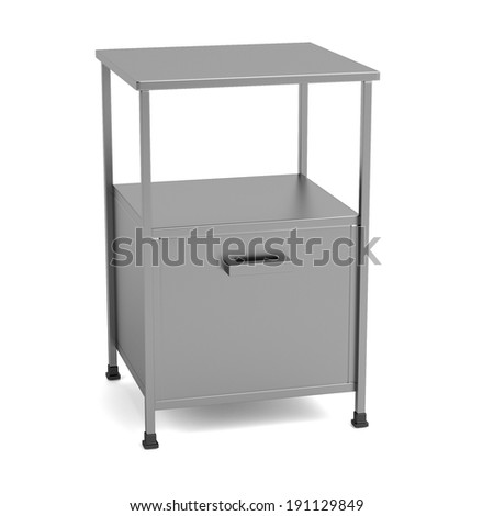 realistic 3d render of medical table