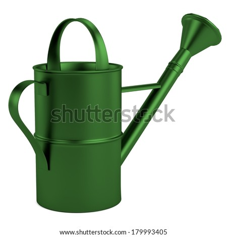 realistic 3d render of watering can