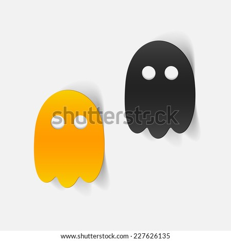 realistic design element: ghost