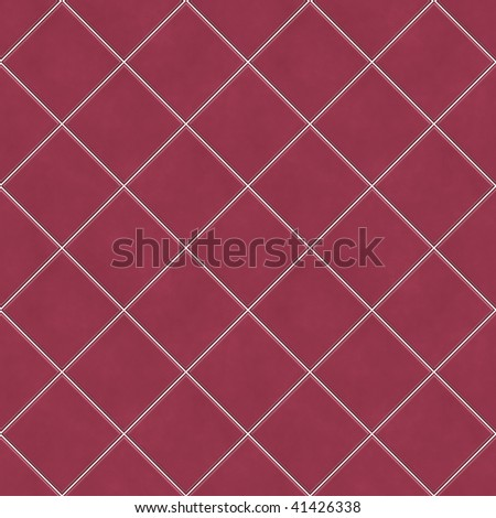 Realistic Illustration of Tiles Seamless Pattern