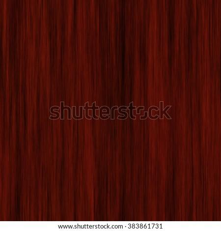 Realistic seamless natural dark wood texture mahogany - stock photo