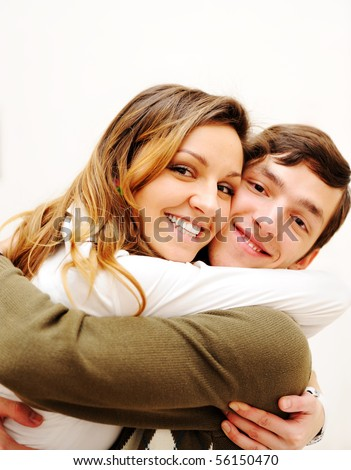 Really love - stock photo