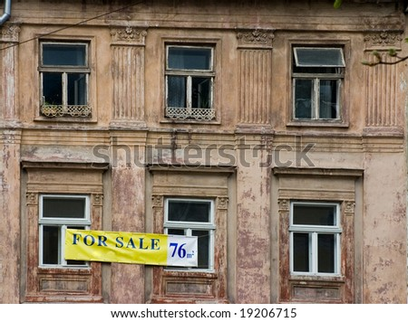 realty for sale - stock photo