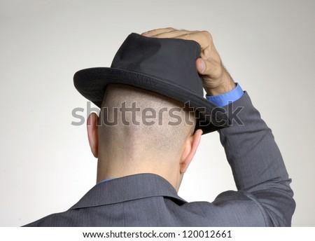 Фото лысых в шляпе 3 фотография