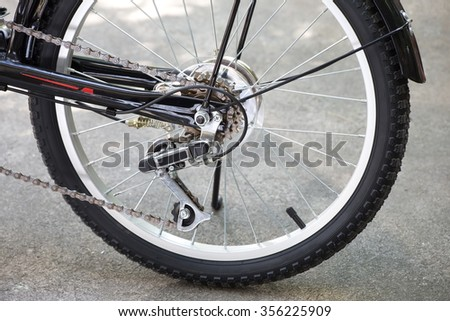 Rear wheel of Bicycle