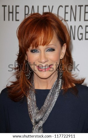 Reba McEntire at PaleyFest 2012 Fall TV Preview: Malibu Country, Paley Center for the Media, Beverly Hills, CA 09-11-12 - stock photo