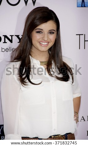 "Rebecca Black at the Los Angeles Premiere of ""The Vow"" held at the Grauman's Chinese Theater, California, United States on February 6, 2012."