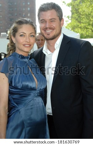 Rebecca Gayheart, Eric Dane at ABC Network 2007-2008 Primetime Upfronts Previews, Lincoln Center, New York, NY, May 15, 2007