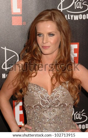Rebecca Mader at the E! Oscar Viewing and After Party, Drai's, Hollywood, CA. 04-07-10