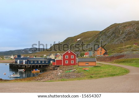 recently abandoned village Syltefjord, Norway, Europe