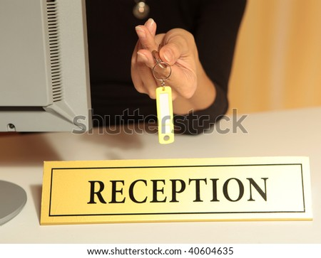 Reception - stock photo