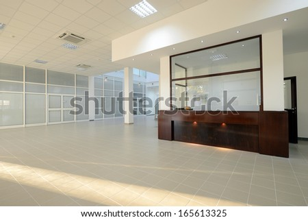 reception interior - stock photo