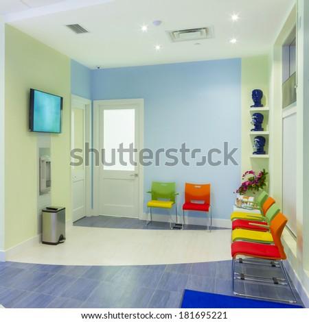 Reception Interior Design - stock photo