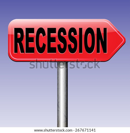 recession economic market crash global bank and stock market crisis - stock photo