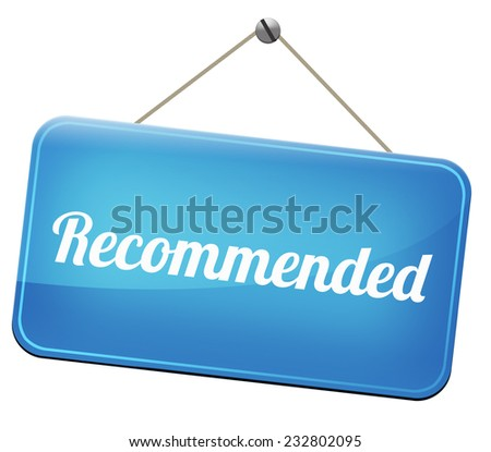 recommended top quality product review recommendation for best choice optimal solution  - stock photo