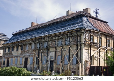 Reconstruction of old building