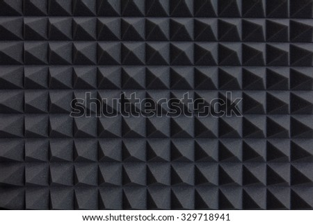 Recording studio sound dampening acoustical foam