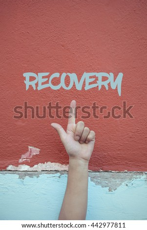 Recovery. - stock photo