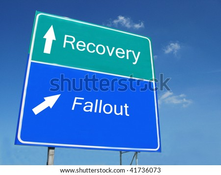 Recovery-Fallout road sign