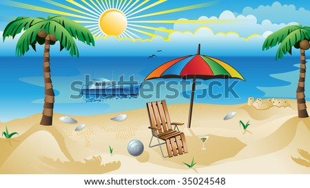 recreation background - stock photo