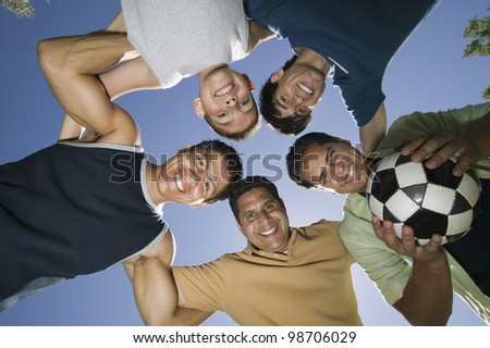 Recreational Soccer Team - stock photo