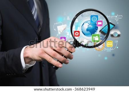 Recruitment. - stock photo