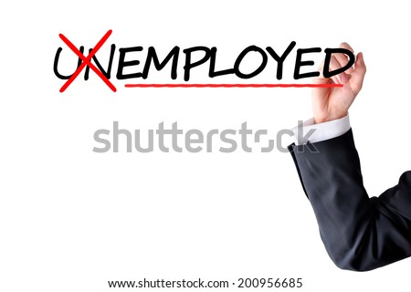 Recruitment and employment issues - stock photo