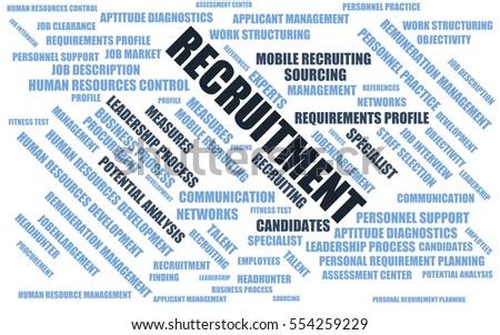 Job Description Word Cloud Wordcloud Terms Stock Illustration ...