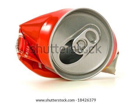 Recycle cans - stock photo