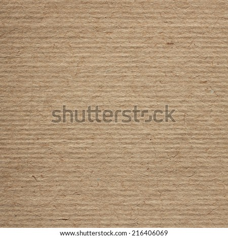 Recycle Cardboard Texture - stock photo