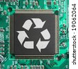 Recycle Electronic Junk - stock photo