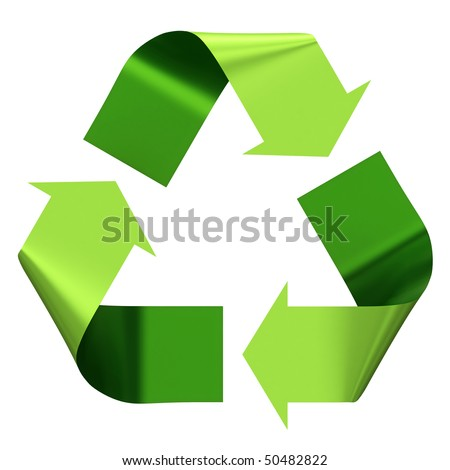 Recycle Logo - stock photo