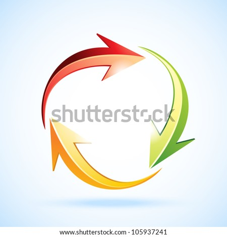 Recycle. Raster version, vector file ID: 104839748 - stock photo